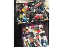Nail polishes box
