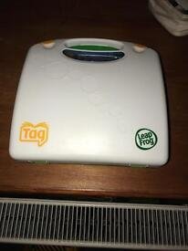 Leap frog tag book and pen case