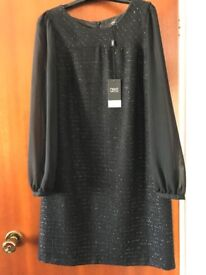 Black Dress (Never worn - tags still attached) - Size 14