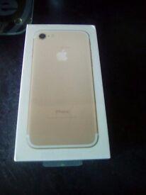 I phone 7 32 gb new unlocked