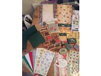 Christmas card making bumper pack H