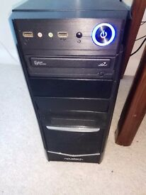 Case PC with PSU 500W.