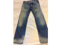 Genuine Men's/Women's Diesel Jean with Pocket Details