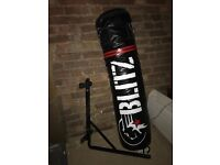 Punchbag blitz 5ft with wall bracket