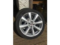 Alloys with tyres Fiat Multipla