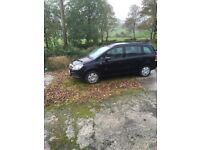 Vauxhall Zafira 2006 Diesel Full Car for PARTS ONLY