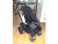 Bugaboo Cameleon Pram/Stroller - All Black Edition - Very good deal