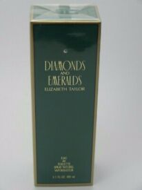 Diamonds And Emeralds Elizabeth Taylor 100ml * New And Sealed*
