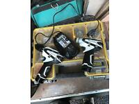 Makita drill and impact set! Perfect condition battery's hold charge very little use.