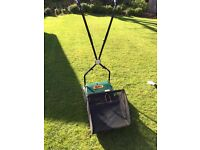 Webb Push Mower with basket