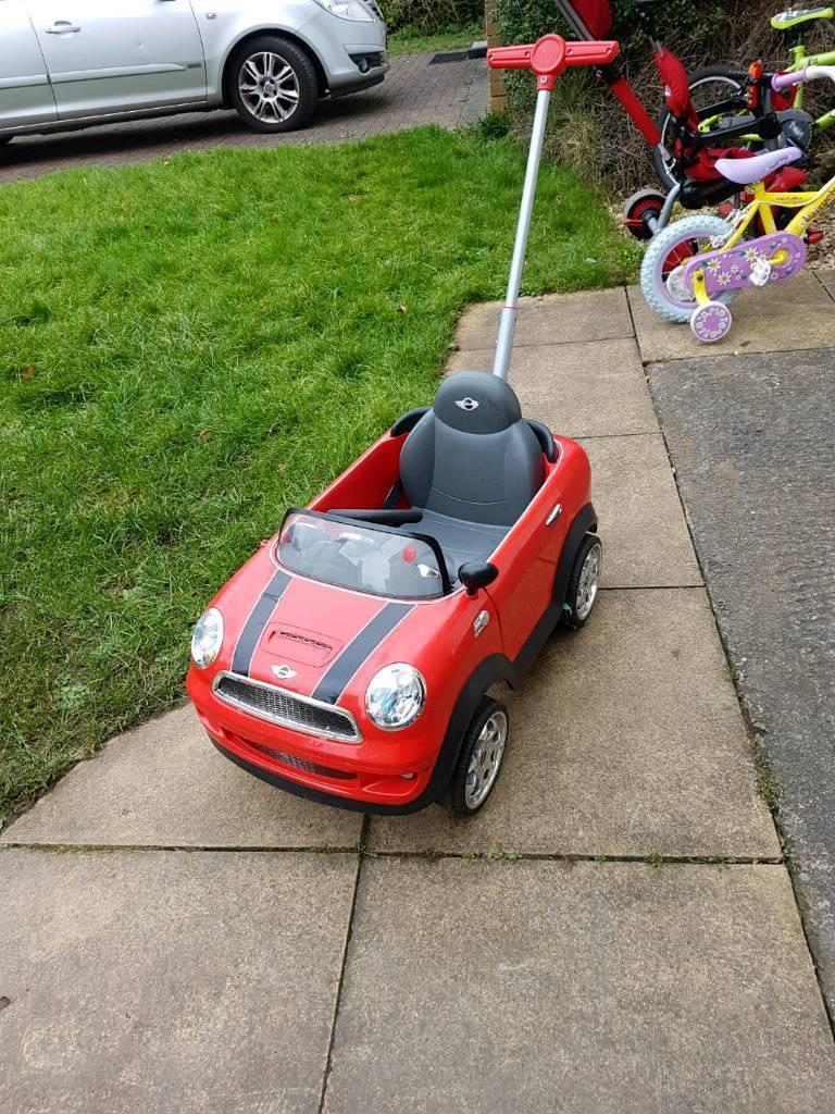 Push along child's mini car