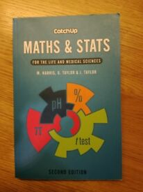 Catch Up Maths and Stats, Second Edition - Good Condition