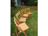 Chairs fold-up occasional extra for xmas