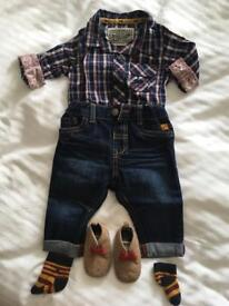 Baby Boy Christmas Gift / Outfit - Age up to 3 months