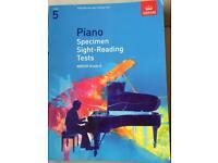 ABRSM Piano Grade 5 Specimen Sight Reading Tests