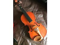 Stentor childs first violin good condition in box no bow