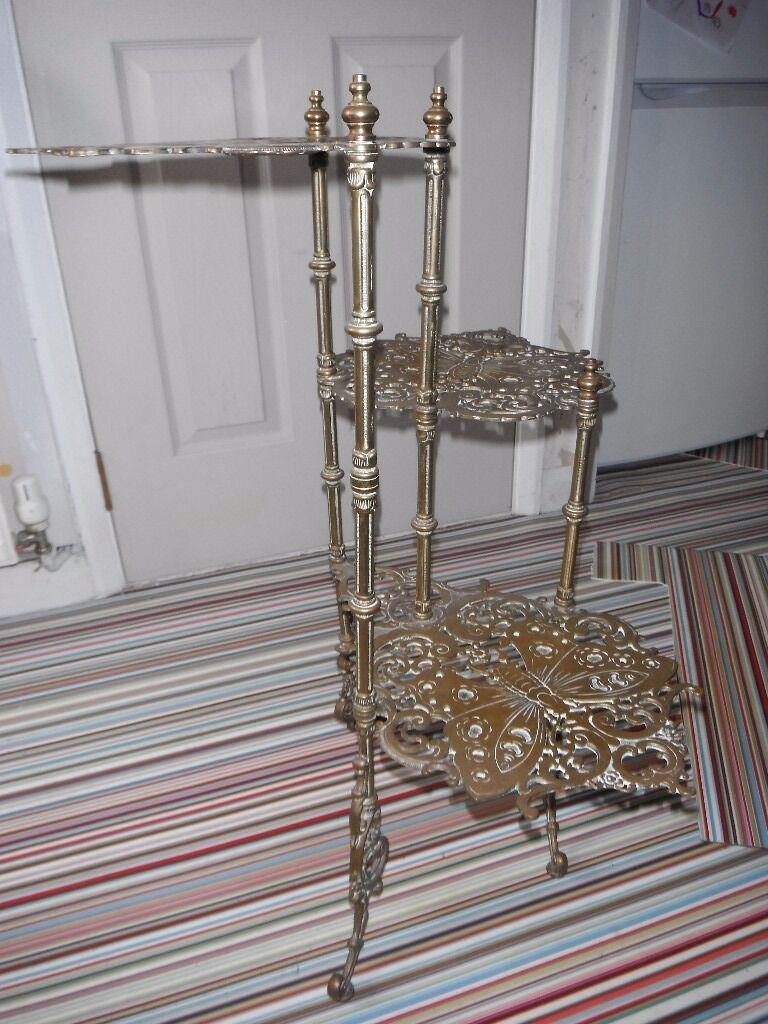 Brass ornament stand - Brass Ornament Stand 58