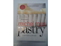 Pastry cookbook, by Michel Roux/Still for sale