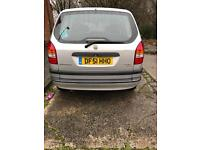 Vauxhall Zafira 1.6 7 Seater For Sale