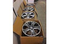 "4 x Used Genuine Land/Range Rover 22"" alloy wheels"