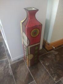 Large Patterned Vase