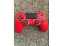 PS4 Controller Red boxed