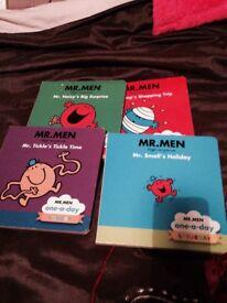 Children's books x8 mr men and my first gruffalo.