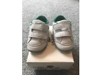 Infant boy size 2 lacoste and converse