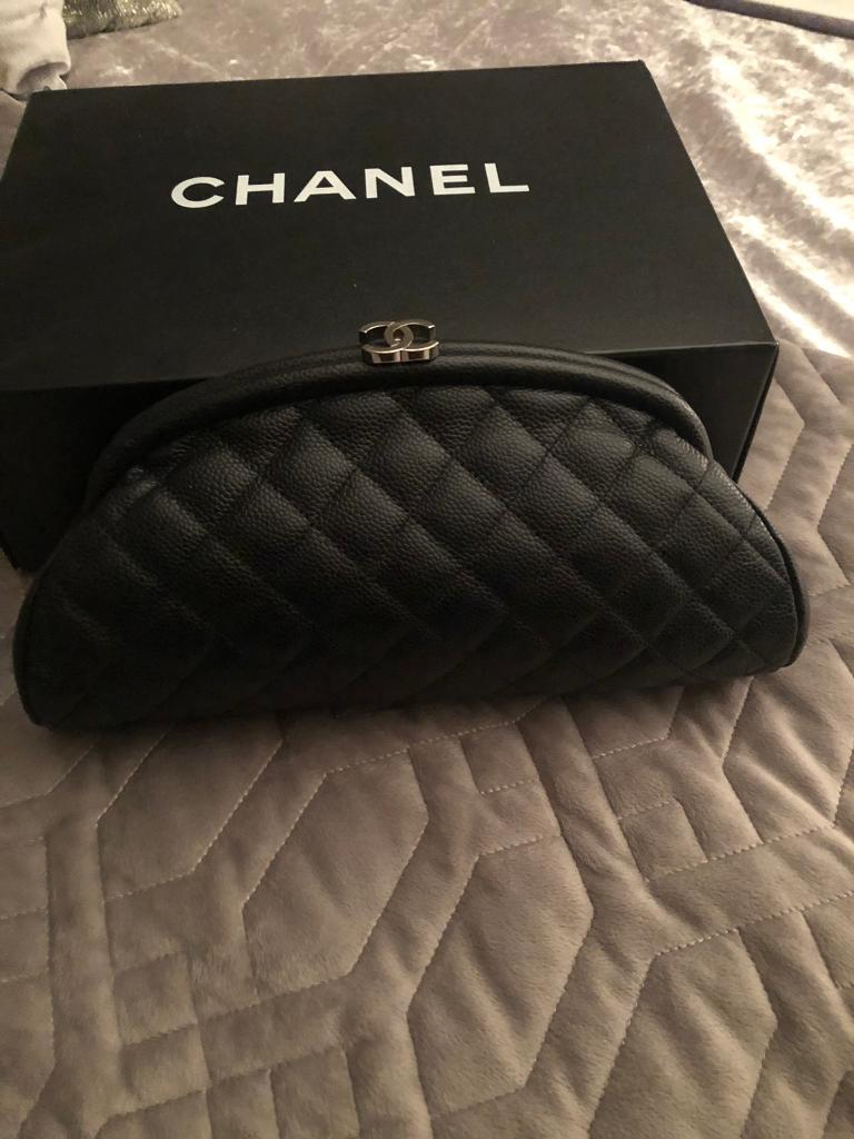 eb75d3ae7b5 Chanel Caviar Clutch Bag Genuine   in Cardonald, Glasgow   Gumtree