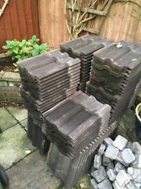 Marley Antique Brown Double Roman Roof Tiles