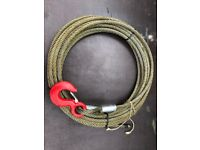 30m wire rope. would suit 3T Tirfor