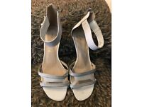 Beautiful white M&S dress sandals size 6