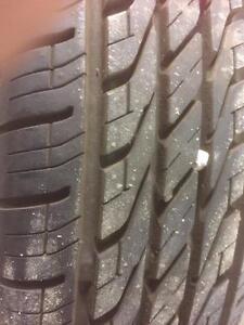 4 pneus d'été, 155/80/13, Toyo, Extenza, 15% d'usure, mesure 9/32.