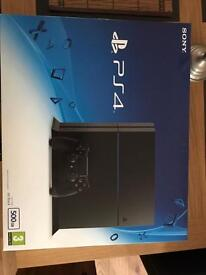 Sony PS4 jet black 500GB includes 4 dual shock controllers and all the games listed