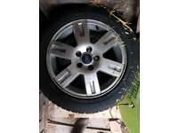 Ford alloys with tyres