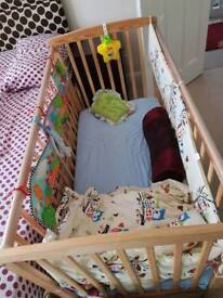 New Baby cot