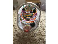 Mamas & Papas Baby Bouncer with Music and Mobile.
