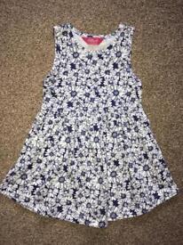 100% cotton dress age 4-5yrs