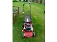 Sovereign Self propelled petrol lawn mower