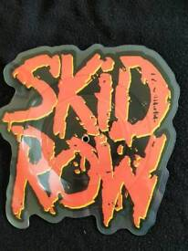"""SKID ROW """"YOUTH GONE WILD"""" SHAPED PICTURE DISC - MINT CONDITION"""