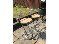 2 x Kitchen bar stools