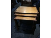 Fabulous Vintage Retro G Plan Quadrille Teak Nest Of 3 Tables