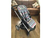 Mamas and Papas Sola buggy and carrycot