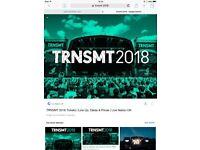 2 TRMSMT FESTIVAL TICKETS GLASGOW