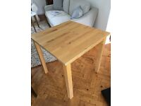 Ikea Norden birch dining table