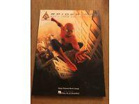 Spider-Man soundtracks guitar tab book