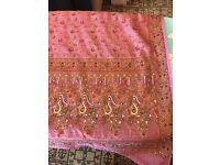 Asian 3 piece shalwar, Kameez and dupatta in silk