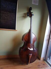 Johan Georg Thir model double bass