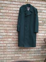 vintage men's double breasted trench coat