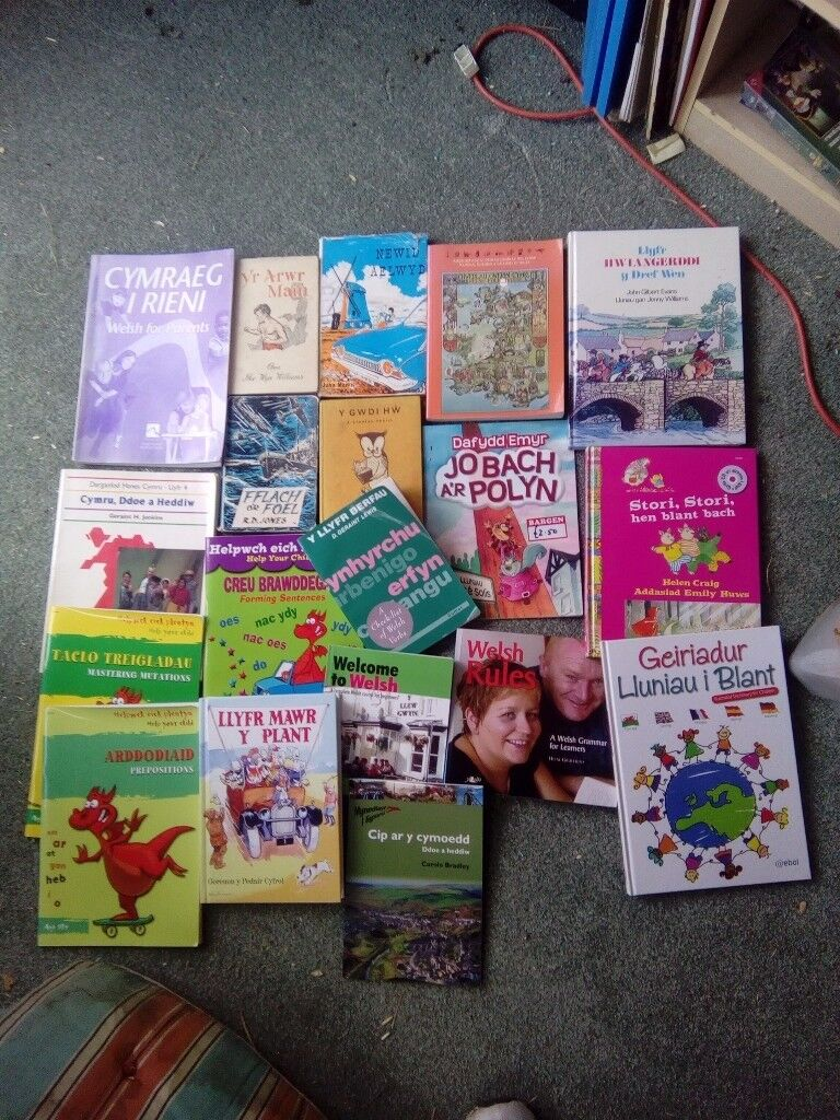 Welsh books for sale - may be open to offers